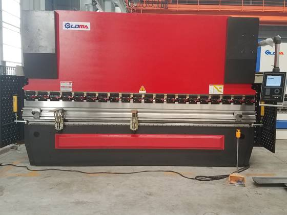 MB8 Automatic Sheet Metal Press Brake Bending Machine With DA56S System