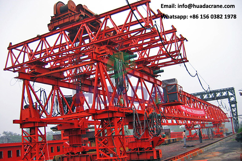 High quality 180ton double girder T beam beam launcher manufacturer for bridge erection