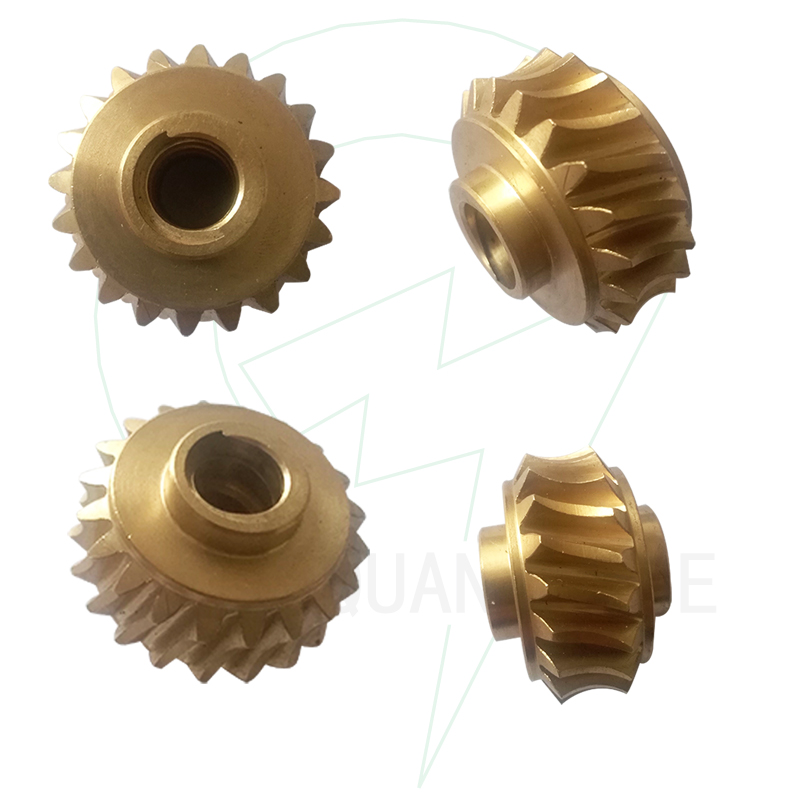 ISO9001 CNC Machining Brass Gears Parts manufacturer for Industrial Equipment