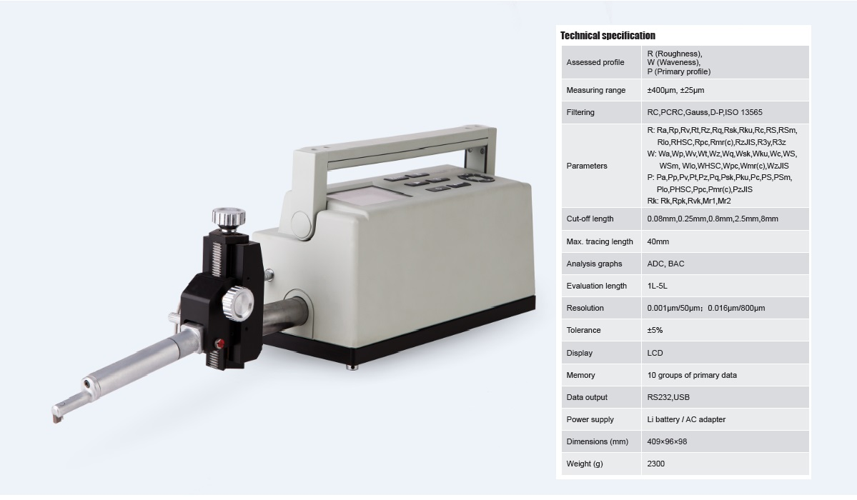 Perfect Accuracy Surface Form Tester Profilometer TIME®3230