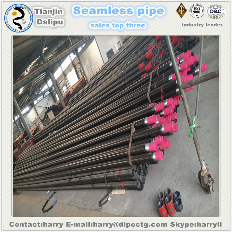 China alibaba API 5CT K55 seamless steel water well casing pipe and tubing pipe