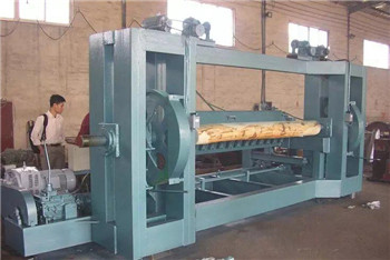 LXQ260-1500 spindle face veneer peeling lathe machinery/ big diameter wood log  peeler
