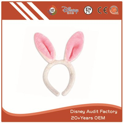 Plush Short Fiber Rabbit Modeling Headband 100% PP Cotton