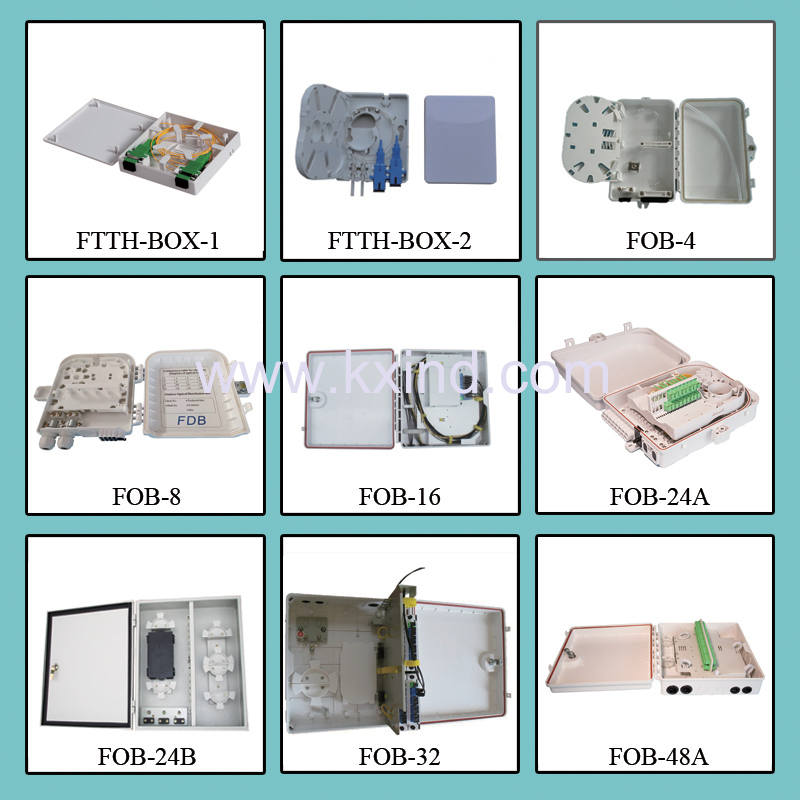 Plastic Distribution box GFL/S Series,FTTH BOX 8/16/24/32/48