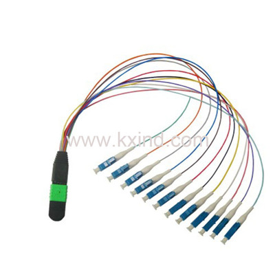 MPO/MTP-12LC 0.9mm Fiber optical patchcord  OM3 OM4 SM Colour