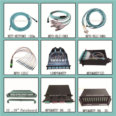 MTP/MPO 24/48/72/96 Fiber Optic Patch Panels