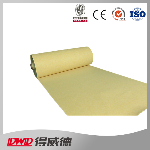 flame retardant Aramid non woven needle filter media felt
