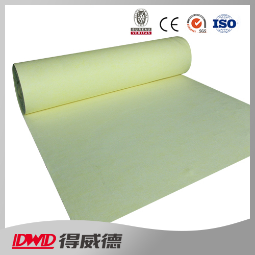 excellent anti-corrosion antioxidant PTFE fiber non woven filter media