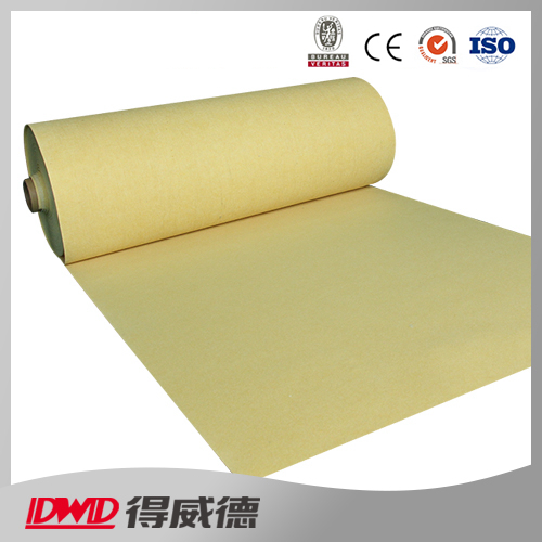 high temperature resistance excellent insulating P84 filtration felt fabric