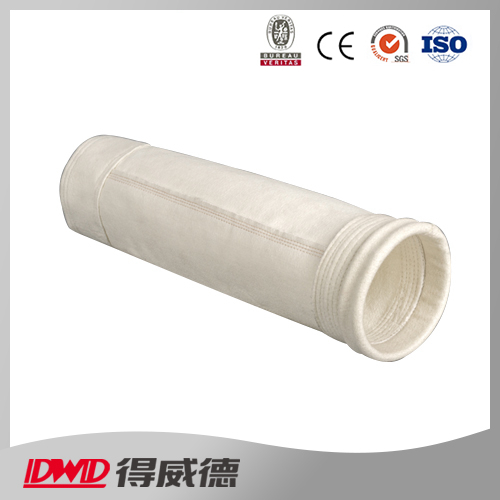 high temperature retard  low shrinkage gas filtrtion fiberglass filter bag