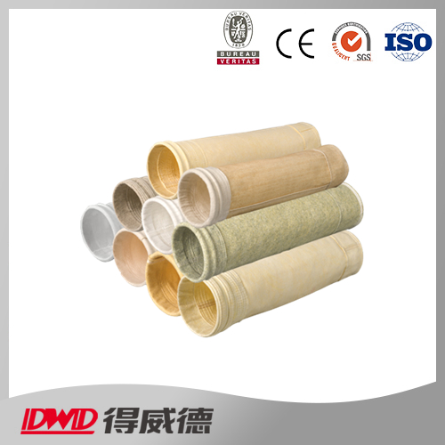 Composite high-temperature resistant dust filter media bag