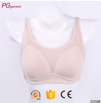 Wholesale 2017 Genie comfort wire-free leisure sleep physiological gestation wireless adjustable sports seamless bra