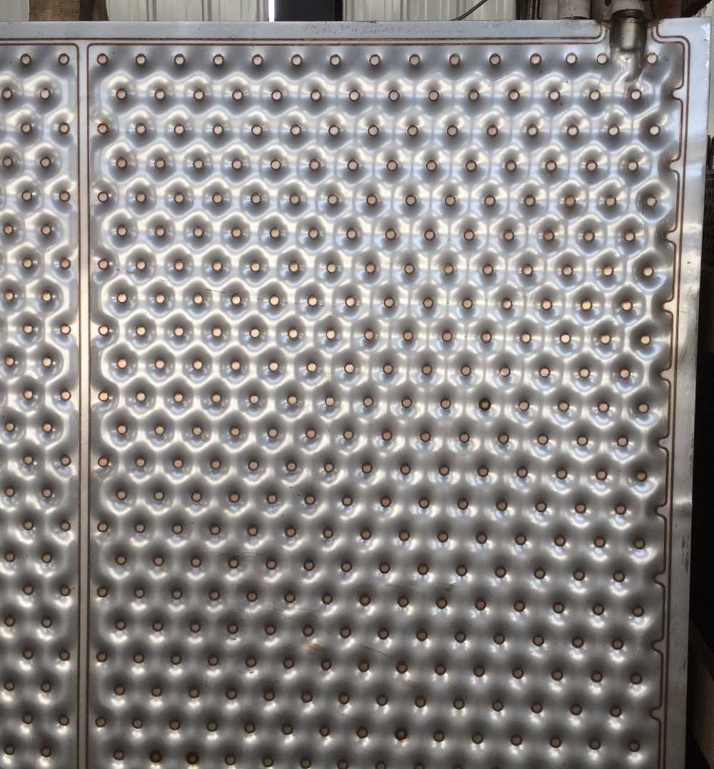 Embossed Design Stainless Heat Exchange Plate Cooling Plate