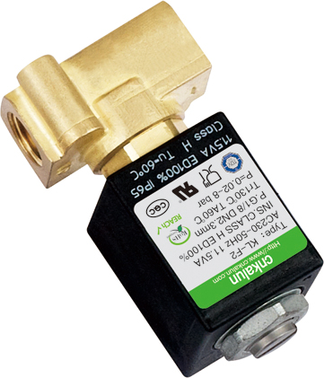 2 station 2 ways 12VDC-240VAC brass solenoid water valve