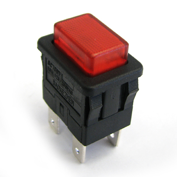 SC7097 baokezhen  Single Pole/Double Pole On-Off momentary/latching square push button switch