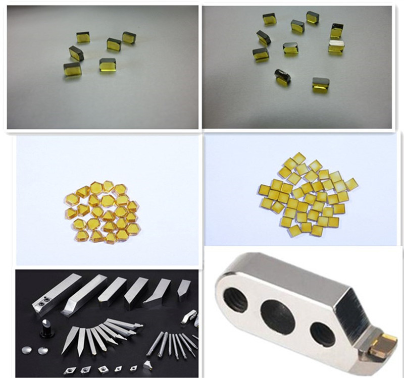 Synthetic Diamond Plates Diamond Macles for Cutting Tools