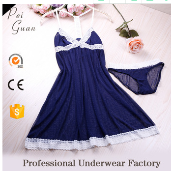 2017 new design sexy mature sleepwear women sleepwear sexy lingerie sleepwear
