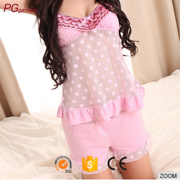 New mesh babydoll hot girls sexy sleepwear girls sexy night dress photos