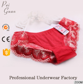 high quality custom young girl lady sexy panty transparent lace panties women underwear panties