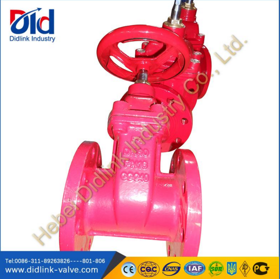 CAST IRON GATE VALVES(RED)