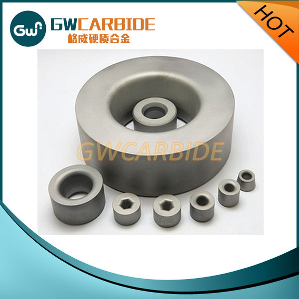 Tungsten Cemented Sintered Carbide Wire Drawing Extruding Dies Nibs Pellet /Wheel