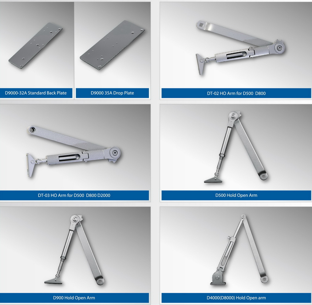 Parts of Heavy Duty Hydraulic Door Closer P1