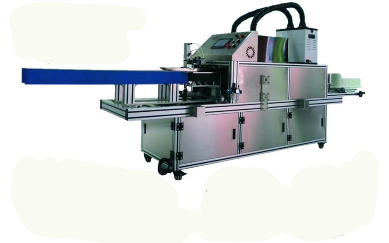 automatic boxes glue packing machine