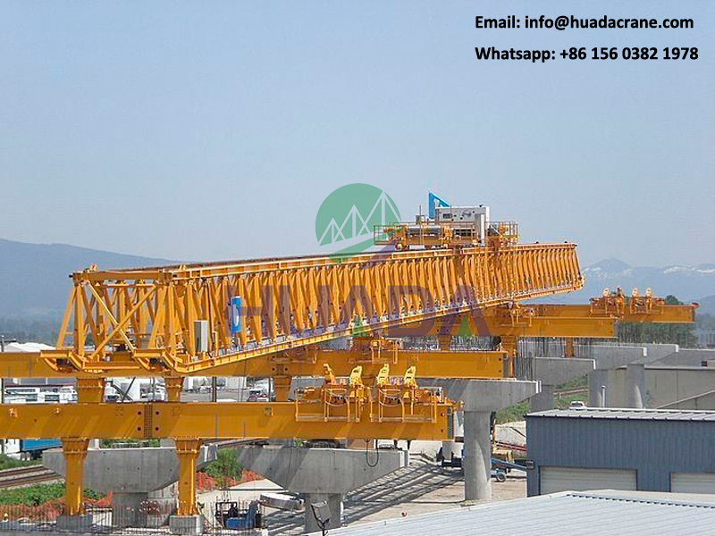 160ton beam launcher equipment used in bridge construction
