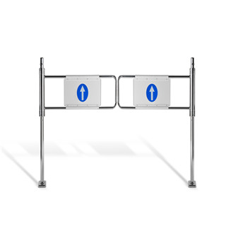 European standard Security Supermarket Derection Revolving Mechanical Swing gate