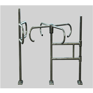 One-way people flow control stainless steel Mechanical Turnstile Revolving Gate/Door