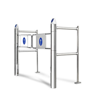 Scientific design Supermarket Entrance Carbon steel Automatic Swing Gate/Door