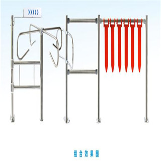High Quality Supermarket Queue Management stainless steel tensile gate/barrier manufacturer