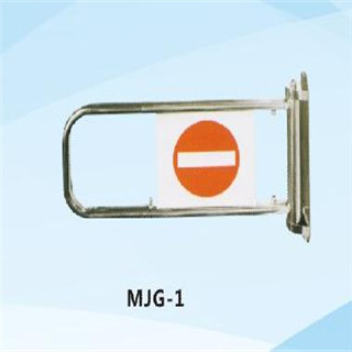 Hot sale simple operation Supermarket Entrance Checkout Counter chrome Gate