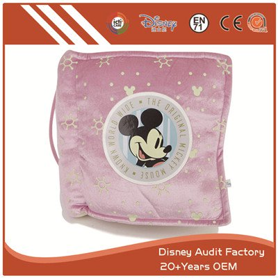 Plush Mickey Folding Pillow Full Sublimation Printing