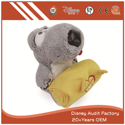 Plush Animal Blanket Full Sublimation Printing