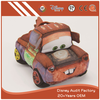 Plush Disney Cars Plush Toy Sublimation Pattern