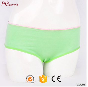 Super Comfort Printed Cute Cotton Hipster Bikini Panties Cotton Underwear for Girl