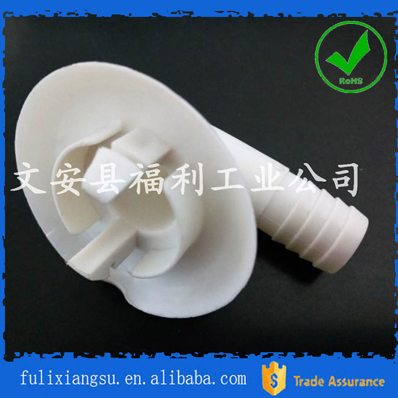 Air conditioning plastic water outlet pipe