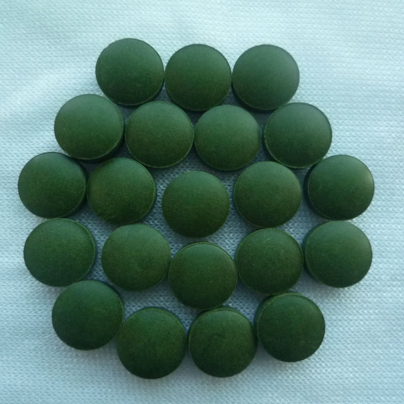 Healthcare food chlorella tablet 200mg-1000mg for sale