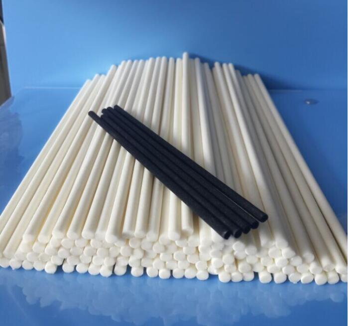 Black & white fiber diffuser sticks synthetic diffuser sticks for sale