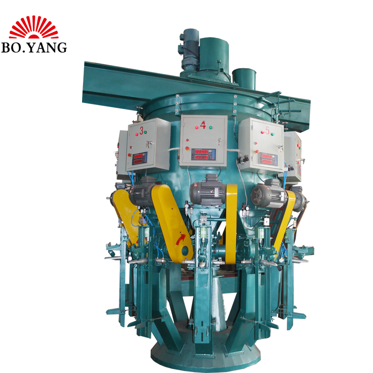 Automatic Valve Bagging machine with powder