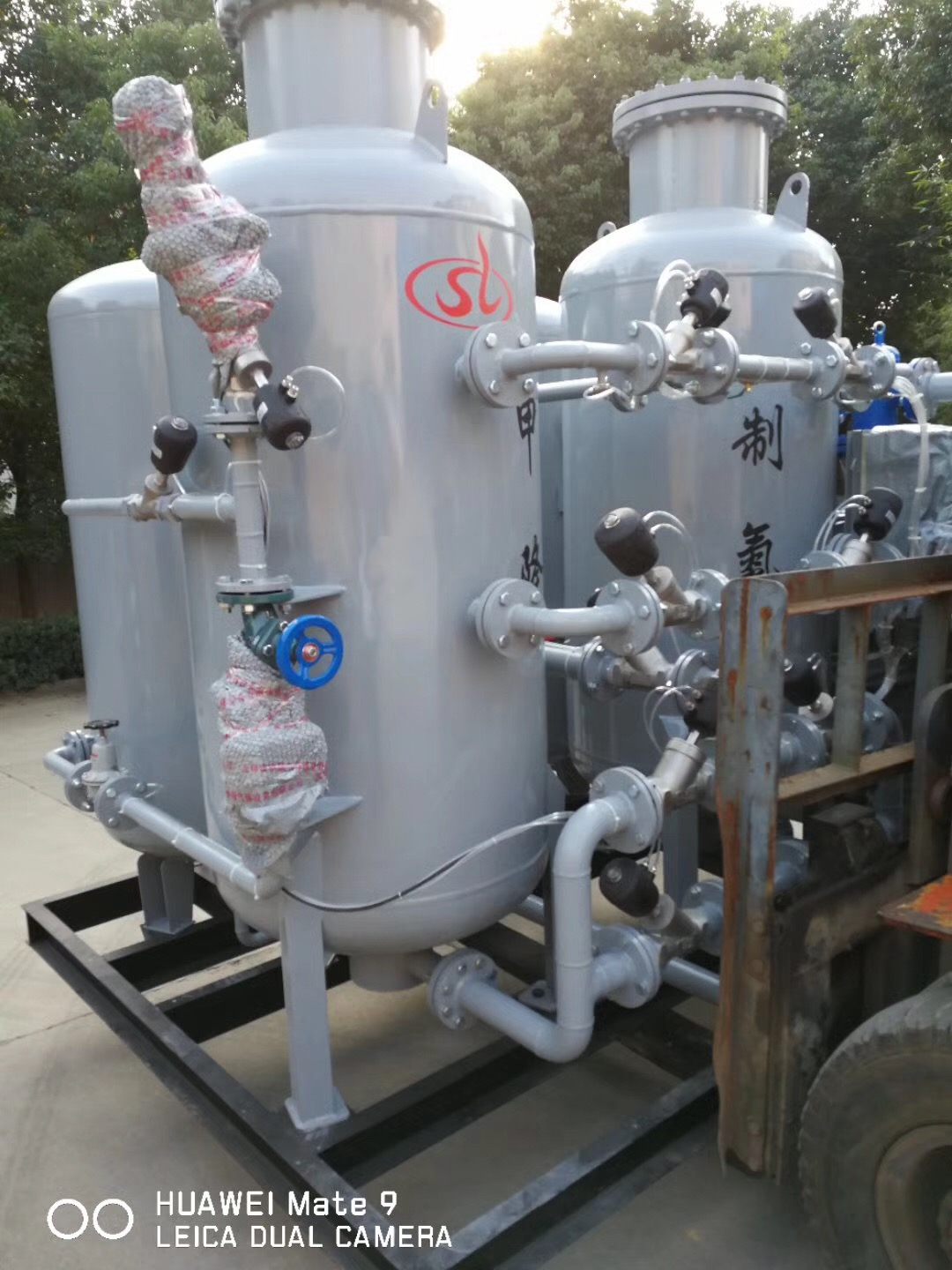 PSA Oxygen Generator by pressure swing adsorption from Chinese Suppier manufacturer
