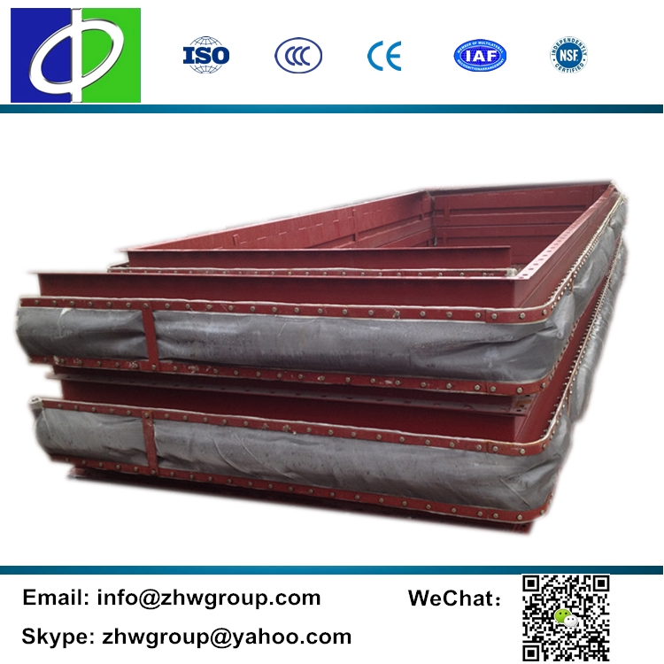 Reduce shock heat resistant fabric cloth for expansion joint
