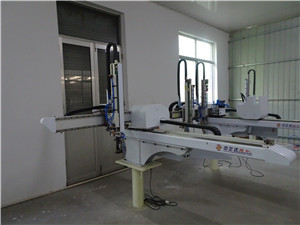Vertical manipulator/ Robot arm for injection molding machine