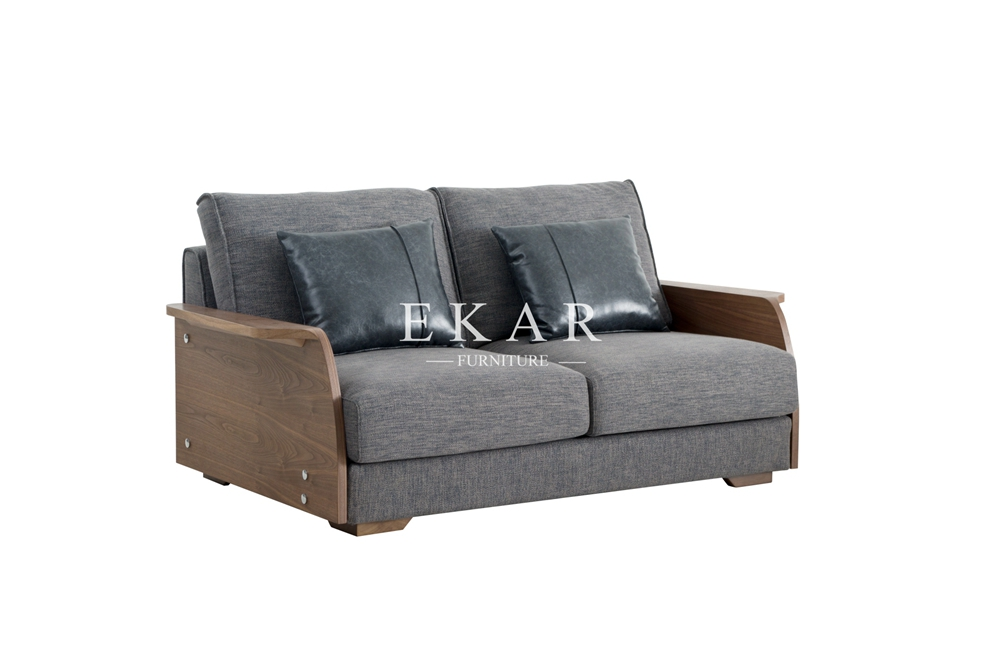 European Style Furniture New Model Fabric Wooden Normal Sofa
