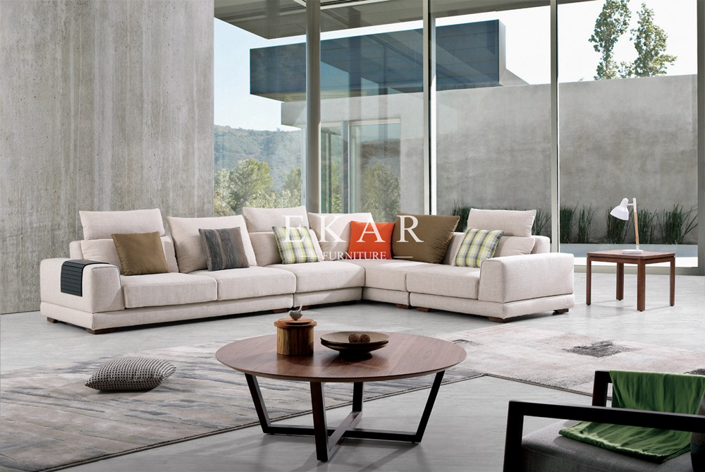 italian living room furniture imported hot fabric modern des