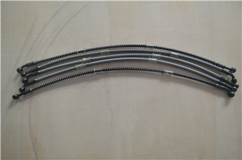 1/8 stainless steel wire braided reinforced brake hose