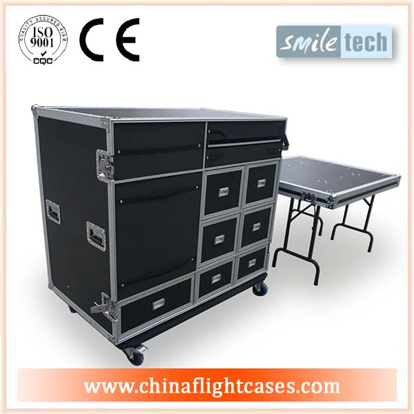 Drawer Flight Cases with Tables_RK manufacturer