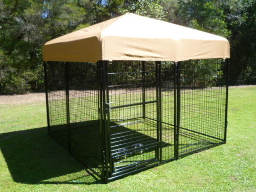 K9 Kennel Pro Complete Fully Enclosed 2.4m x2.4m Dog Run $400 usd