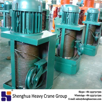 16t hc type wire rope electric hoist